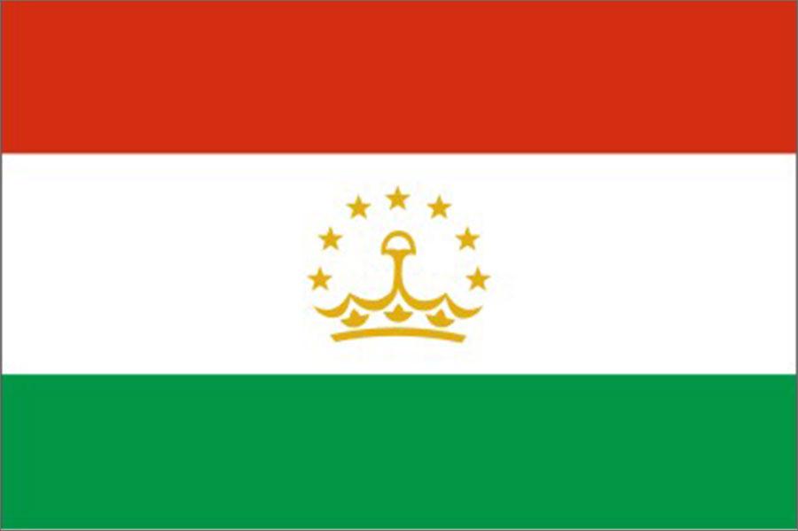 Таджикистан - флаг